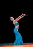 Addestramento di base di ballo di DAI--Danza popolare cinese Fotografia Stock