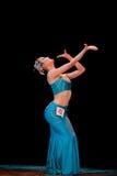 Addestramento di base di ballo di DAI--Danza popolare cinese Fotografie Stock Libere da Diritti