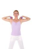 Addestramento di forma fisica Immagini Stock