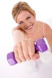 Addestramento di forma fisica Fotografia Stock