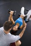 Addestramento di forma fisica Immagini Stock Libere da Diritti