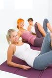 Addestramento di forma fisica Fotografie Stock