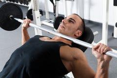 Addestramento di ginnastica Immagine Stock
