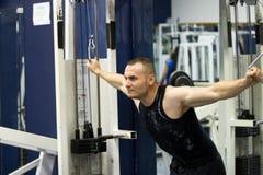 addestramento di ginnastica di forma fisica immagine stock libera da diritti