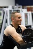 addestramento di ginnastica di forma fisica Immagini Stock Libere da Diritti