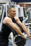 addestramento di ginnastica di forma fisica Immagine Stock