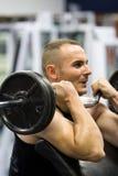 addestramento di ginnastica di forma fisica Fotografia Stock Libera da Diritti
