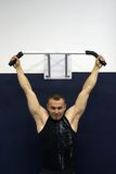 addestramento di ginnastica di forma fisica Fotografia Stock