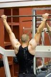 addestramento di ginnastica di forma fisica Fotografie Stock Libere da Diritti