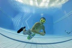 Addestramento di immersione senza scafandro Fotografie Stock Libere da Diritti