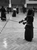 Addestramento di Kendo Fotografie Stock