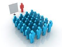 Addestramento di lavoro di squadra Immagini Stock Libere da Diritti