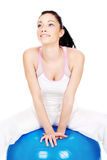Addestramento di Pilates Fotografia Stock Libera da Diritti