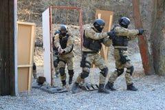 Addestramento di polizia Fotografie Stock
