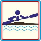 Addestramento di sport del mondo, icona, illustrazioni Fotografia Stock Libera da Diritti