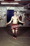 Addestramento di Streetfighter Fotografia Stock Libera da Diritti