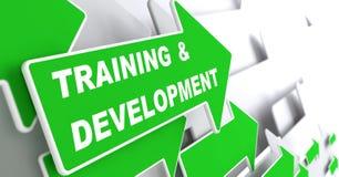 Addestramento e sviluppo. Concetto di istruzione. Fotografia Stock Libera da Diritti