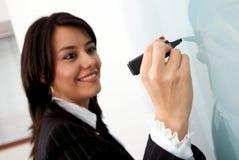 Addestramento ed insegnamento di affari Fotografie Stock