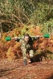 Addestramento fisico militare Immagini Stock Libere da Diritti