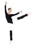 Addestramento grazioso della ballerina Fotografie Stock Libere da Diritti