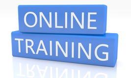 Addestramento online Immagine Stock Libera da Diritti