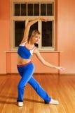 Addestratore di ballo moderno Immagine Stock