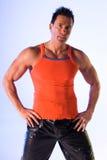 Addestratore personale di forma fisica. Fotografie Stock Libere da Diritti