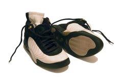 Addestratori di pallacanestro fotografie stock