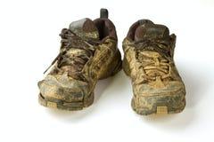 Addestratori sporchi Fotografia Stock Libera da Diritti