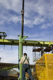 Addetto alla lavorazione dell'acciaio 2 Fotografia Stock Libera da Diritti