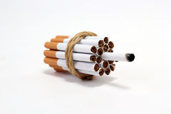 Addict Cigarette Stock Photos