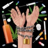 Addiction Stock Image