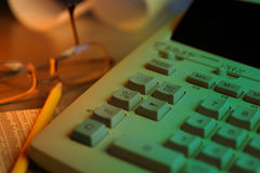 Adding Machine Stock Photography
