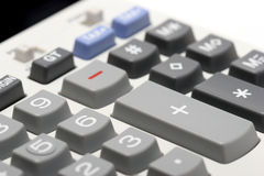 Adding machine - plus royalty free stock photos