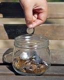 Adding to Savings Stock Photo