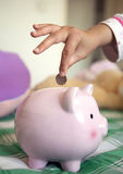 Adding to Your Savings Royalty Free Stock Image