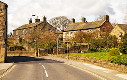 Addingham, Yorkshire England Stockfotos