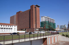 Addington Hospital in Pocess of being Refurbished in Durban Stock Photos