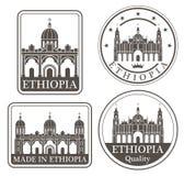 Addis Ababa abstraite Image libre de droits