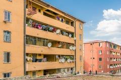 Addis Ababa Condominiums royalty-vrije stock fotografie
