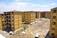Addis Ababa Housing Project-Gotera Condominium in 2011. Addis Ababa Housing Project - Gotera Condominium in 2011 Stock Image