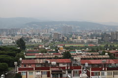 Addis Ababa`s residential buildings. Addis Ababa`s new residential buildings. One can notice big buildings everywhere: office towers, business buildings Royalty Free Stock Photos