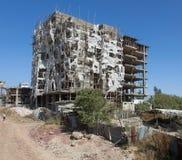 Addis Ababa-Wohnungsbau Stockfoto