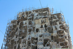Addis Ababa-Wohnungsbau Lizenzfreie Stockbilder