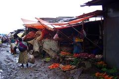 Addis-Abebamarkt Lizenzfreies Stockfoto