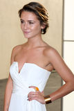 Addison Timlin arrives at the ABC / Disney International Upfronts Royalty Free Stock Photo