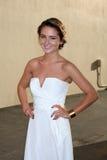 Addison Timlin kommt im ABC/DisneyInternational Upfronts an Stockbilder