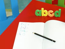 Addition learning Stock Photography