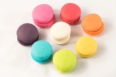 Additional french colorful macaroon. Stock Photo