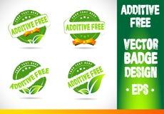 Additive Free Badge Vector Stock Photo